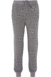 Current/Elliott The Slim Vintage printed cotton track pants