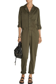 Current/Elliott The Mechanic cotton-twill jumpsuit