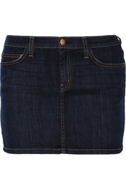 Current/Elliott The 5-Pocket Mini denim skirt