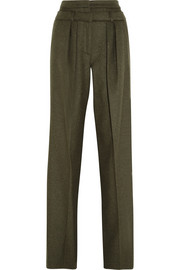 Hogara wool-blend wide-leg pants