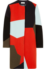 Paul & Joe Kokilla color-block wool-blend coat