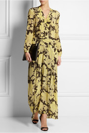 Paul & Joe Umako floral-print silk maxi dress