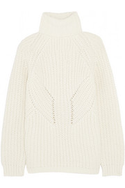 Paul & Joe Windu chunky-knit turtleneck sweater