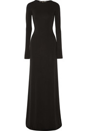 Calvin Klein Collection Phebe open-back stretch-jersey gown