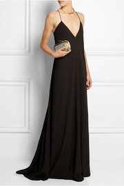 Calvin Klein Collection Alessia crepe gown