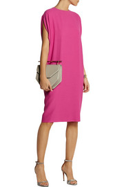 Agnona Draped wool-crepe dress