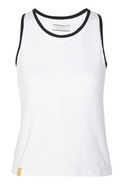 Monreal London Racer-back stretch-jersey tank