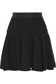 Milly Crepe mini skirt