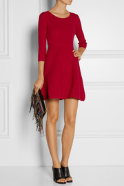 Milly Ribbed-knit dress