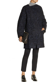 Vanessa Bruno Athé Babacar embroidered wool-blend coat