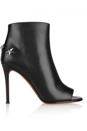 Givenchy Micha studded ankle boots in black leather