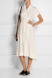 TITLE A Monkey silk midi dress