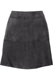 TITLE A Suede mini skirt