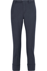 TITLE A Woven tapered pants