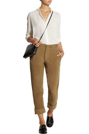 TITLE A Corduroy tapered pants
