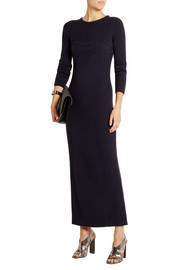 Maison Martin Margiela Ribbed wool maxi dress