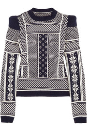 Maison Martin Margiela Fair Isle wool sweater