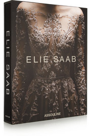 Assouline Elie Saab: Luxury Images of a Master Fashion Designer by Janie Samet hardcover book