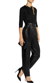 Vionnet Pevai leather tapered pants