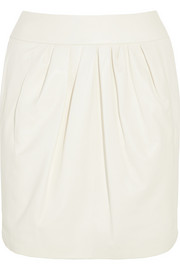 Nina Ricci Leather mini skirt