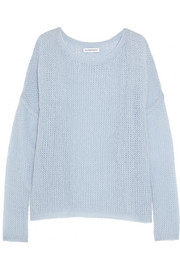 KAUFMANFRANCO Cashmere and silk-blend sweater