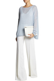 KAUFMANFRANCO Stretch-wool wide-leg pants