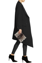 Christopher Kane Asymmetric wool-felt coat