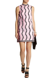 Christopher Kane Embroidered silk-organza mini dress