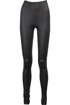 Yves Saint Laurent Stretch textured leggings
