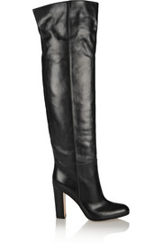 Gianvito Rossi Leather knee boots