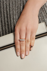 Finds + H & H Cleo rose gold-plated ring