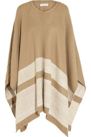 Finds + APIECE APART striped woven alpaca-blend poncho