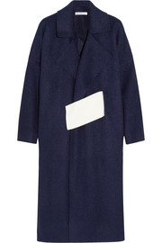 Finds + Rejina Pyo color-block brushed wool-blend coat