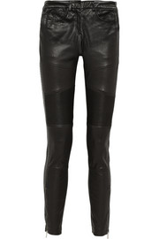 Karl Lagerfeld Hunter leather skinny pants