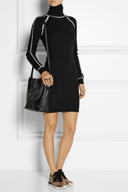 Karl Lagerfeld Nora cashmere turtleneck sweater dress