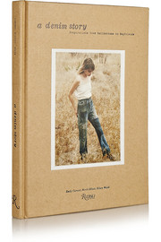 A Denim Story: Inspirations from Bellbottoms to Boyfriends hardcover book