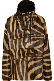 Acne Studios Tyler animal-print calf hair parka