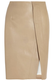 Acne Studios Kay leather skirt