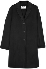 Elsa Doublé wool and cashmere-blend coat