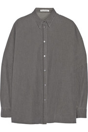 Acne Studios Jetson oversized washed-denim shirt