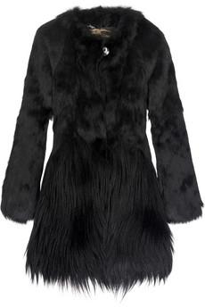 Burberry ProrsumCollarless goat and rabbit jacket