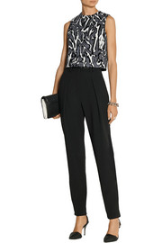Proenza Schouler Stretch-wool cady tapered pants