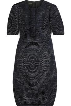 Burberry ProrsumVelvet brocade dress