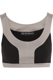 Live The Process Stretch-jersey sports bra