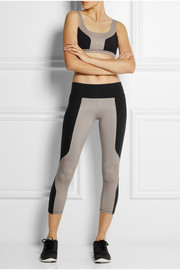 Live The Process Paneled stretch-jersey leggings