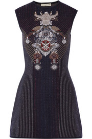 Mary Katrantzou Babel metallic stretch-knit dress