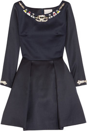 Mary Katrantzou Copelia embellished wool mini dress