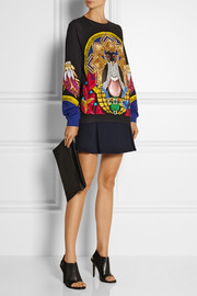 Mary Katrantzou Printed French terry sweatshirt