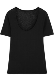 The Elder Statesman Favorite cashmere and silk-blend T-shirt
