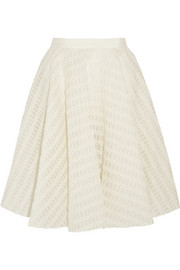 Giambattista Valli Embroidered tulle skirt